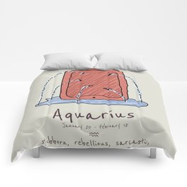 Aquarius V2 Comforters