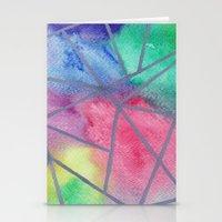 tie dye Stationery Cards featuring Tie dye by Bridget Davidson