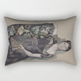 Pablo Picasso - Portrait of Olga in an Armchair Rectangular Pillow