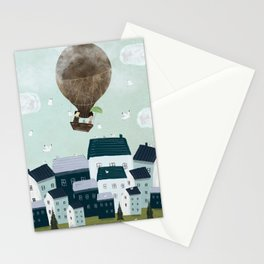 with the birds Stationery Cards