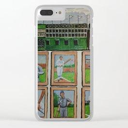 Kansas City Baseball Since 1884 Clear iPhone Case