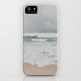 Storm Clouds Over the Sea iPhone Case