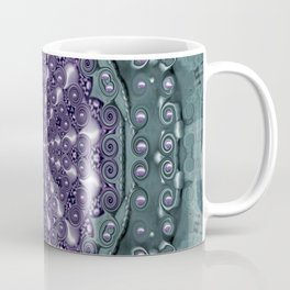 Star and flower mandala in wonderful colors Coffee Mug