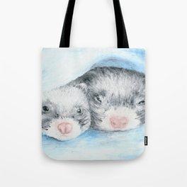 Dobby and Niffler Tote Bag