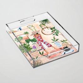 Plant Lady Acrylic Tray