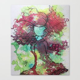 Carefree and Wild Canvas Print