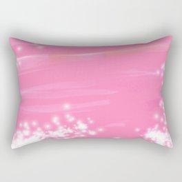 Pink Sparkles Rectangular Pillow
