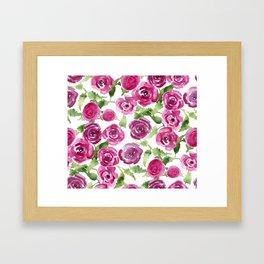 Brittarose Roses Framed Art Print