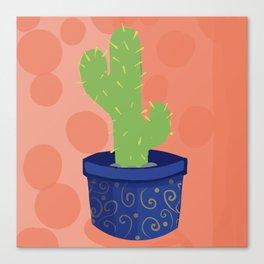 Cutest Cactus Canvas Print