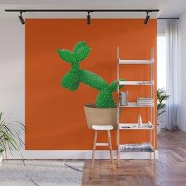 Cactus dog Wall Mural