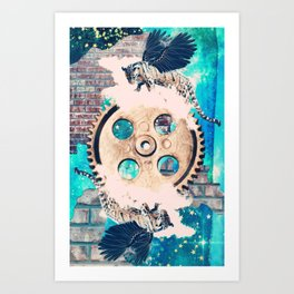 The Wheel of Fortune Art Print