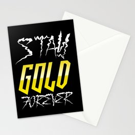 Stay GOLD Forever! Stationery Cards