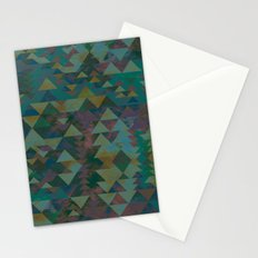Delta Tribe - Green Stationery Cards