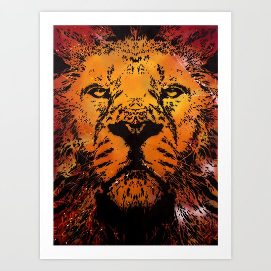 =RedLion= Art Print