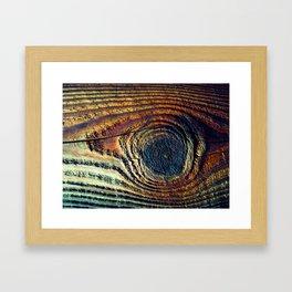 Knot Eye Framed Art Print