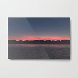 ~ warm nights in alaska ~ Metal Print