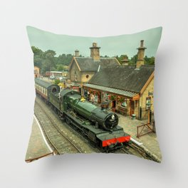 Bradley Manor at Arley Throw Pillow