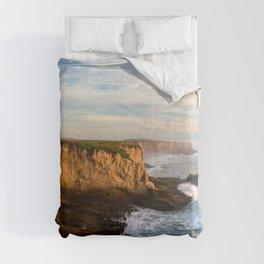 Santa Cruz California Beach Comforters