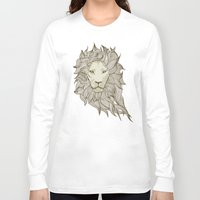 lion Long Sleeve T-shirts featuring Lion by Vickn