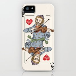 Fiddler poker iPhone Case