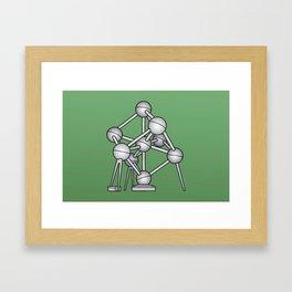 Atomium Brussels Framed Art Print