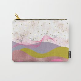 Mountainous Sailing Carry-All Pouch