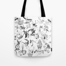 Ink Thougts Tote Bag
