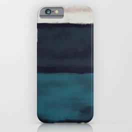 Rothko Inspired #17 iPhone Case