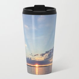 A Seattle Sunset Travel Mug