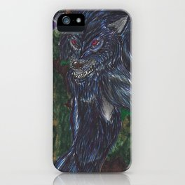 The Werewolf iPhone Case
