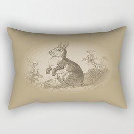 Bunny Rabbit {teddy bear brown} Rectangular Pillow