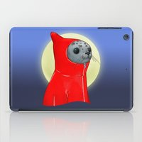 seal iPad Cases featuring Hooded Seal by Mirco