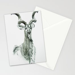 Prime of Life | Kudu Bull Stationery Cards