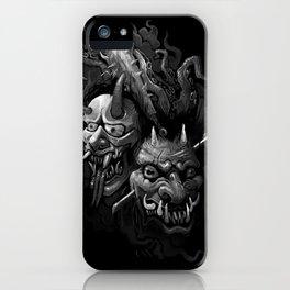 Demon Duel iPhone Case