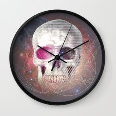 Astral Skull Wall Clock