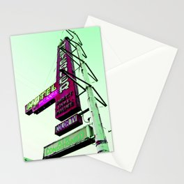Hotel Motel Stationery Cards