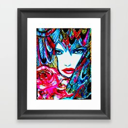 PHOENIX  #society6 #decor #buyart Framed Art Print