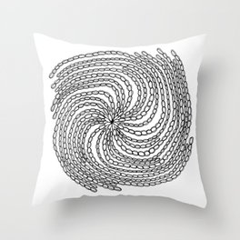 Jewelry Chains Throw Pillow