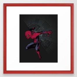 The Amazing Spider-Man: Mid-nite Framed Art Print