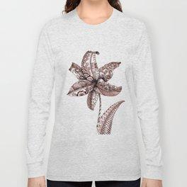 Henna Lily Long Sleeve T-shirt