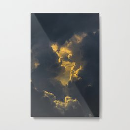 Baroque clouds Metal Print