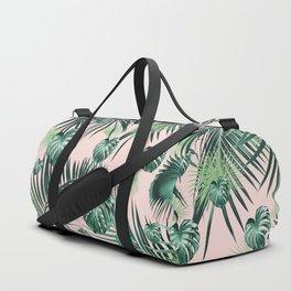 Tropical Jungle Leaves Garden #2 #tropical #decor #art #society6 Duffle Bag