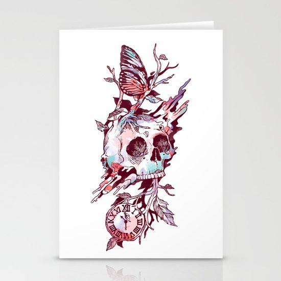 Mors et Natura 2.0 Stationery Cards
