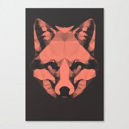 Geo - Fox  Canvas Print