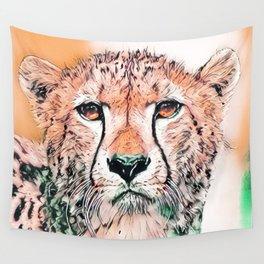 Animal ArtStudio 1520 Cheetah Wall Tapestry