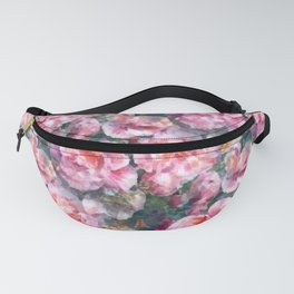 Pink floral pattern Fanny Pack