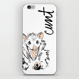 Dirty Dishes-- Opossum iPhone Skin