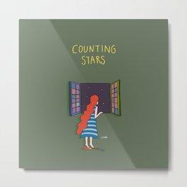 Counting  stars Metal Print