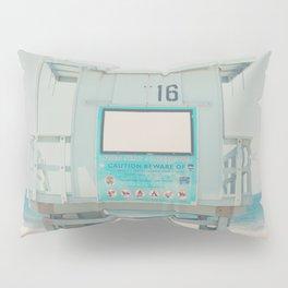 Lifeguard Tower #16 Pillow Sham