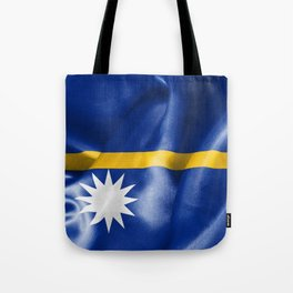 Nauru Flag Tote Bag